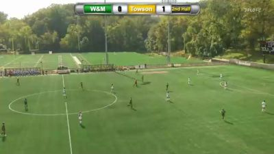 Replay: William & Mary vs Towson | Oct 3 @ 2 PM