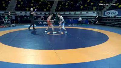 55 kg Quarterfinal - Gabriel Gray, Texas Panhandle Wrestling Club vs Brady Koontz, TMWC/ Ohio Regional Training Center
