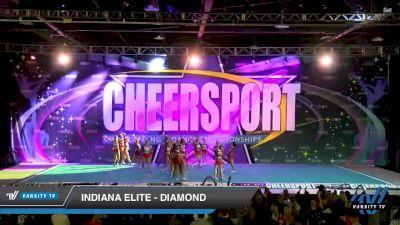 Indiana Elite - Diamond [2020 Senior Medium 4 Day 1] 2020 CHEERSPORT National Cheerleading Championship