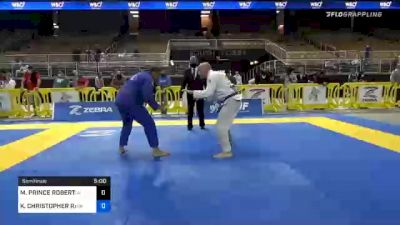 MICHAEL PRINCE ROBERTSON vs KEVIN CHRISTOPHER RARIDEN 2020 World Master IBJJF Jiu-Jitsu Championship