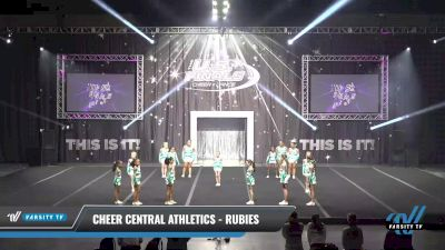 Cheer Central Athletics - Rubies [2021 L2 Mini Day 1] 2021 The U.S. Finals: Sevierville