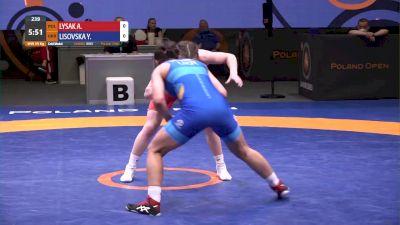 59 kg Gold - Anhelina Lysak, POL vs Yuliia Lisovska, UKR