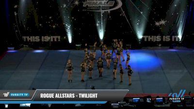 Rogue Allstars - Twilight [2021 L1 Junior - D2 - Small Day 2] 2021 The U.S. Finals: Pensacola