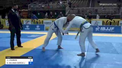 JAMES J DURKIN vs ALFONSO SALINAS GARCIA JR. 2021 Pan Jiu-Jitsu IBJJF Championship