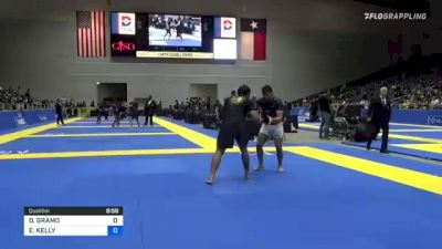 DAVID GRAMO vs ELIOT KELLY 2021 World IBJJF Jiu-Jitsu No-Gi Championship