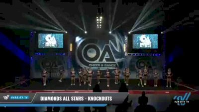 Diamonds All Stars - Knockouts [2021 L4 Senior - Small - B Day 2] 2021 COA: Midwest National Championship