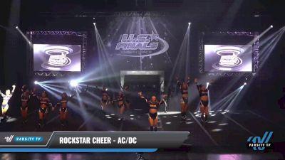 Rockstar Cheer - AC/DC [2021 L6 Exhibition (Cheer) Day 1] 2021 The U.S. Finals: Sevierville