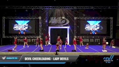 Devil Cheerleading - Lady Devils [2021 L3.1 Traditional Recreation - 14 and Younger (AFF) Day 1] 2021 The U.S. Finals: Ocean City