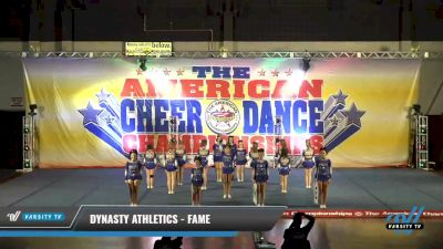 Dynasty Athletics - Fame [2021 L4 Junior - D2 - Small Day 1] 2021 The American Celebration DI & DII