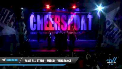 FAME All Stars - Midlo - Vengeance [2021 L6 Senior Coed Open - Large Day 1] 2021 CHEERSPORT National Cheerleading Championship