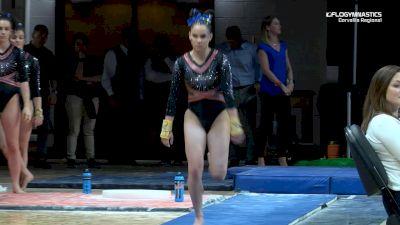 Gabriela Bouza - Vault, Boise State - 2019 NCAA Gymnastics Regional Championships - Oregon State