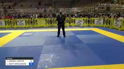 TRENTON GABRIEL CARTER vs LANDEN SCOTT BROUSSARD 2021 Pan Kids Jiu-Jitsu IBJJF Championship