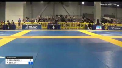 BREANNA STIKKELMAN vs AMY BOULAY 2021 American National IBJJF Jiu-Jitsu Championship