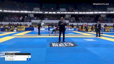 MATHIAS LUNA vs SERVIO TULIO 2019 World IBJJF Jiu-Jitsu No-Gi Championship