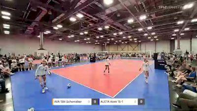 AVA 15N Schumaker vs ALETA Aces 15-1 - 2021 JVA Summerfest presented by Nike