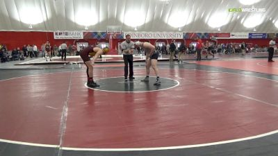 197 lbs Quarterfinal - Aaron Bolo, Central Michigan vs Michael Beard, Unattached