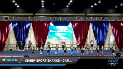 Cheer Sport Sharks - Cambridge - Wobbegong Sharks [2020 L2 Youth - Small Day 2] 2020 The American Majestic DI & DII