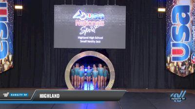 Highland [2018 Small Varsity Jazz Finals ] USA Spirit Nationals