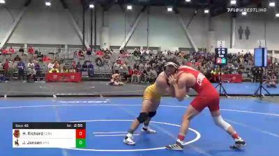 149 lbs Prelims - Hunter Richard, Cornell vs Jaron Jensen, Wyoming