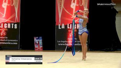 Katherina Tcheprasova - Ribbon, RHAM - 2020 LA Lights Tournament of Champions