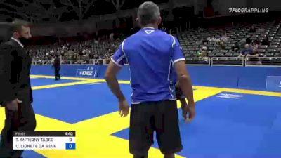 TERRELL ANTHONY TADEO vs UBIRATAN LIONETE DA SILVA 2021 World IBJJF Jiu-Jitsu No-Gi Championship