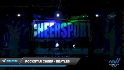 Rockstar Cheer - Beatles [2020 International Open Small Coed 6 Day 2] 2020 CHEERSPORT National Cheerleading Championship