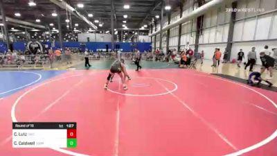 152 lbs Round Of 16 - Cody Lutz, Cwc vs Caleb Caldwell, Terminators