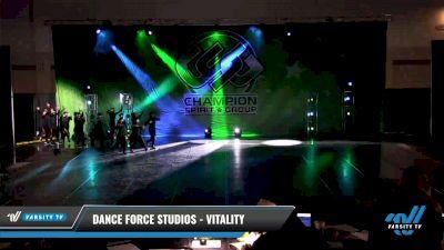 Dance Force Studios - Vitality [2021 Senior - Hip Hop - Small Day 3] 2021 CSG Dance Nationals