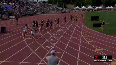 High School Girls' 4x100m Relay 5A, Finals 1