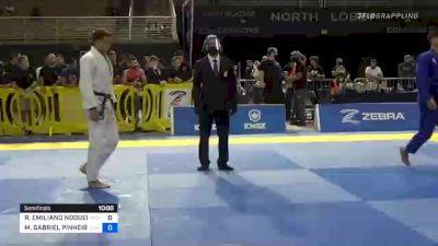 RICHAR EMILIANO NOGUEIRA vs MATHEUS GABRIEL PINHEIRO BARROS 2020 Pan Jiu-Jitsu IBJJF Championship