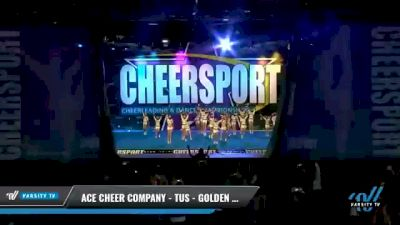 ACE Cheer Company - TUS - Golden Spears [2021 L2 Youth - Small - A Day 2] 2021 CHEERSPORT National Cheerleading Championship