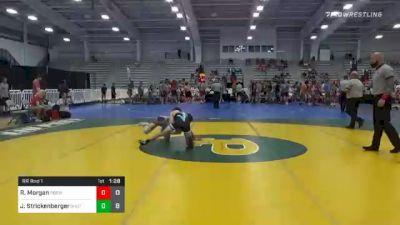 120 lbs Prelims - Ryan Morgan, Polar Bear Express Wrestling Cub vs Jett Strickenberger, Team Shutt North