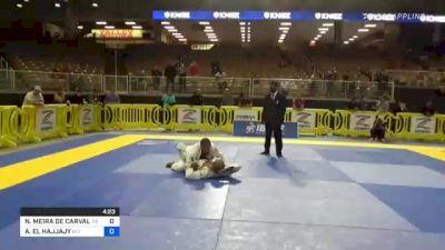 NATANAEL MEIRA DE CARVALHO vs ANISS EL HAJJAJY 2021 Pan Jiu-Jitsu IBJJF Championship