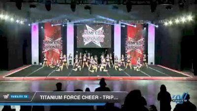 Titanium Force Cheer - Triple Threat [2021 L3 Senior - D2 - Medium Day 2] 2021 JAMfest Cheer Super Nationals