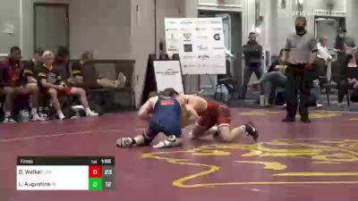 170 lbs Final - Dillon Walker, USA vs Luca Augustine, PA