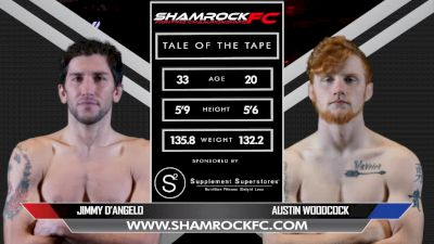 Jimmy D'Angelo vs. Austin Woodcock - Shamrock FC 311 Full Fight Replay