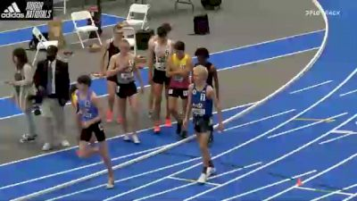 High School Boys' Mile Championship, Finals 1