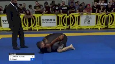 CHRISTOPHER DENNIS KERBIS vs ROBERT CHAO 2021 Pan IBJJF Jiu-Jitsu No-Gi Championship
