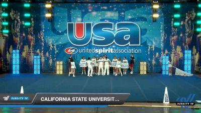 California State University San Bernardino [2020 Small Co-Ed Show Cheer 4-Year College -- Division II/III Day 2] 2020 USA Collegiate Championships