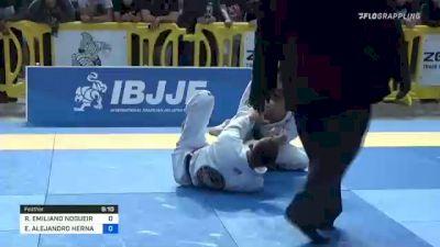 RICHAR EMILIANO NOGUEIRA vs EMILIO ALEJANDRO HERNANDEZ RODRI 2021 Pan Jiu-Jitsu IBJJF Championship