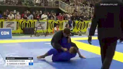 ANDRE NASCIMENTO DOS SANTOS GOIS vs ULARISLAO CORDOVA IV RODRIGUEZ 2021 Pan Jiu-Jitsu IBJJF Championship