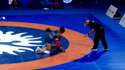 62 kg Quarterfinal - Yagmur Cakmak, TUR vs Korina Blades, USA
