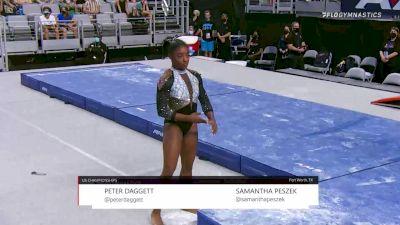 Simone Biles - Beam, World Champions - 2021 US Championships Senior Competition International Broadcast