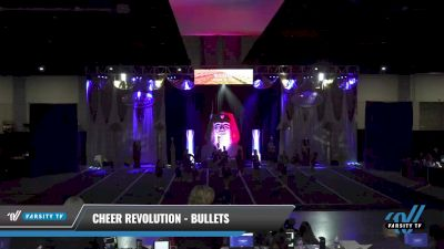 Cheer Revolution - Bullets [2021 L1 Youth - D2 - Small Day 2] 2021 Queen of the Nile: Richmond