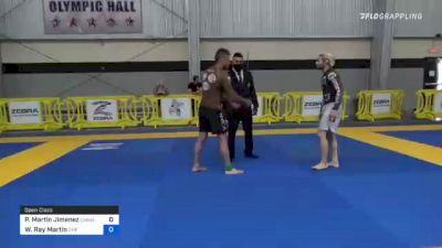 Pedro Martin Jimenez vs Wendell Ray Martin 2021 Pan IBJJF Jiu-Jitsu No-Gi Championship