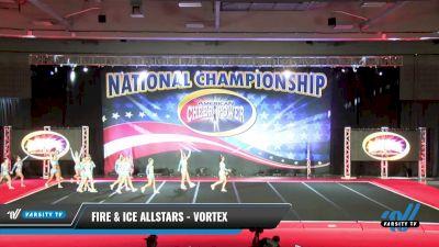 Fire & Ice Allstars - Vortex [2021 L6 Senior - XSmall Day 2] 2021 ACP: Midwest World Bid National Championship