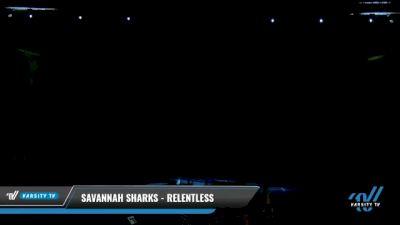 Savannah Sharks - Relentless [2021 L6 Senior - XSmall Day 1] 2021 Cheer Ltd Nationals at CANAM