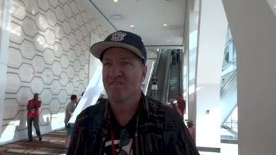 Ed Eyestone coaches Jared Ward to Rio Olympics