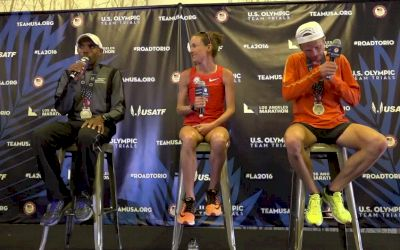 Meb Keflezighi Amy Cragg Jared Ward On Making The Olympic Team