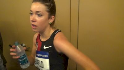 Emily Infeld so excited to have a full year of training healthy